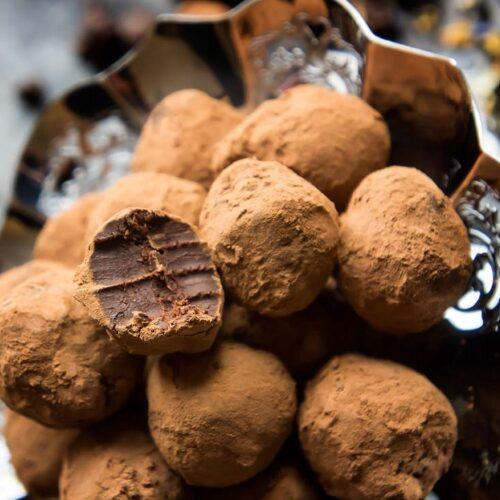 early grey truffles