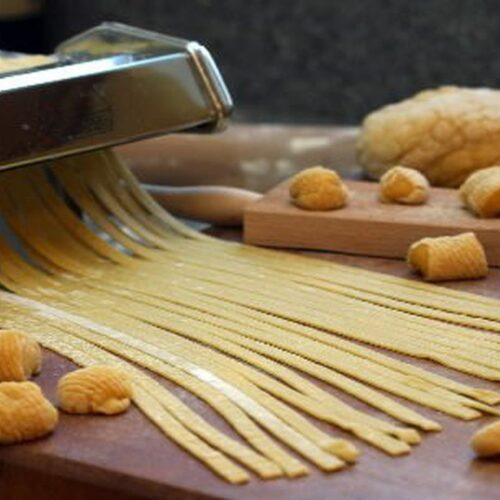 homemade pasta from scratch